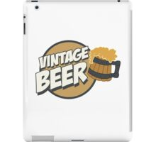 Vintage Beer iPad Case/Skin