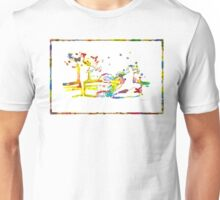 Kung Fu Watercolor Unisex T-Shirt