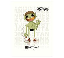 Stanky Jones Art Print