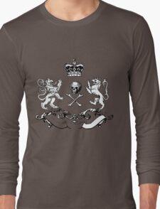 Heraldry Shield Design. Long Sleeve T-Shirt