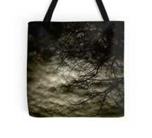 the hour of tree and cloud Tote Bag