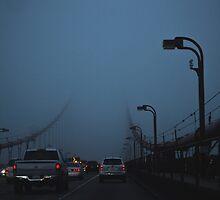 Golden Gate Bridge Traffic by Jlosanch