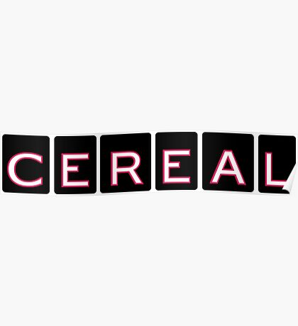 Cereal, the Podcast Poster