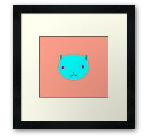 Cat Uno Framed Print