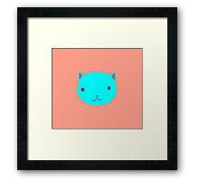 Cat Uno Framed Print