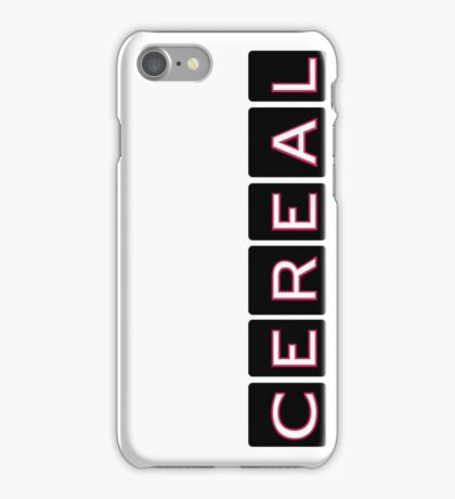 Cereal, the Podcast iPhone Case/Skin