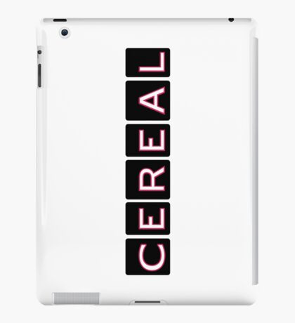 Cereal, the Podcast iPad Case/Skin