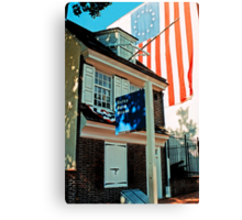Betsy Ross House - Philly Canvas Print