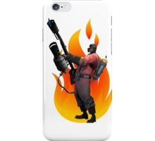 Pyro, Let the burns begin!! iPhone Case/Skin