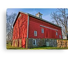 Erwin Stover Barn Canvas Print