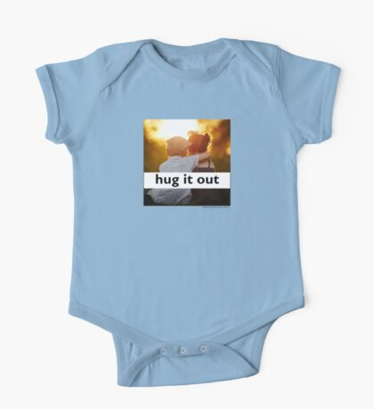 Hug It Out (Kids and Babies sizes) One Piece - Short Sleeve