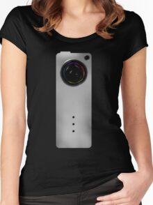 Photographer Shirts - Concept Camera Slim Women's Fitted Scoop T-Shirt