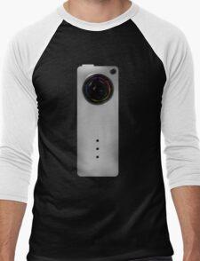 Photographer Shirts - Concept Camera Slim Men's Baseball ¾ T-Shirt