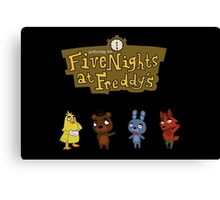 Five Night At Crossing's Canvas Print