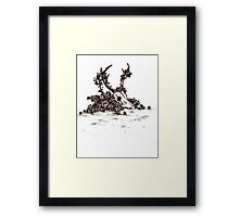 Floral Decay Framed Print