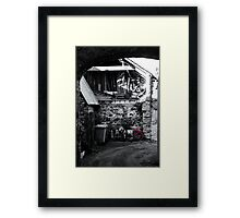 Caught In A Trap! Framed Print