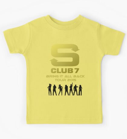S Club 7 Bring It All Back Tour 2015 Kids Tee