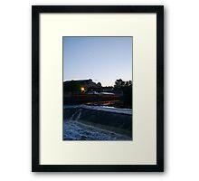 Uppsala, white nights Framed Print