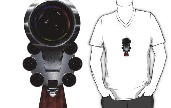 Gun Concept Camera by webart