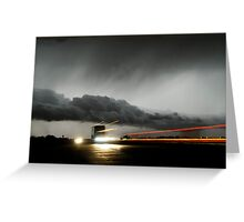 Storm Truckers Greeting Card