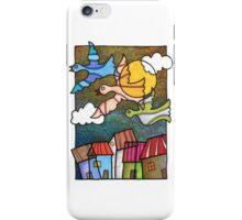 Casas y pajaros iPhone Case/Skin