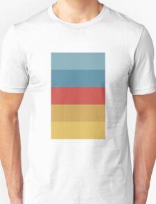 Wes Anderson Palette (The Life Aquatic with Steve Zissou) T-Shirt