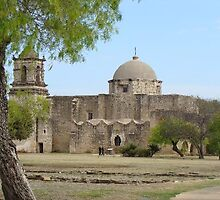 San Jose Mission, San Antonio, Texas by chord0