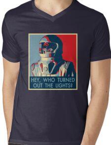 Hey Hope Mens V-Neck T-Shirt