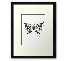 Butterfly Fly Away Framed Print