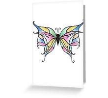Butterfly Fly Away Greeting Card