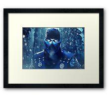 Mortal Kombat - Sub-Zero Framed Print