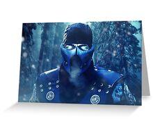 Mortal Kombat - Sub-Zero Greeting Card
