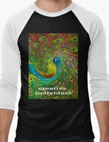 Creative Individual Men's Baseball ¾ T-Shirt