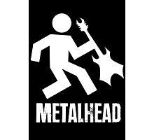 Metalhead Tshirt Photographic Print