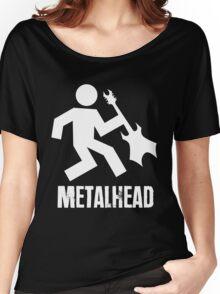 Metalhead Tshirt Women's Relaxed Fit T-Shirt
