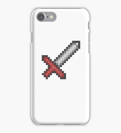"""Sword"" retro shirt iPhone Case/Skin"