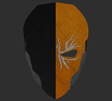 Deathstroke Mask Icon by JacobiWonKanobi