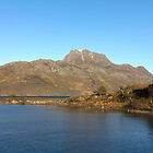 Slioch and Loch Maree Wester Ross Scotland by derekbeattie