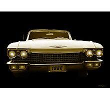 A 1960 Cadillac  Photographic Print