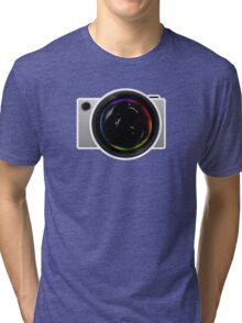 Elegant Concept Camera Tri-blend T-Shirt