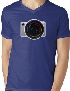 Elegant Concept Camera Mens V-Neck T-Shirt