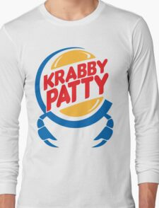 Krabby Patty Long Sleeve T-Shirt