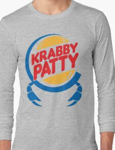Krabby Patty Long Sleeve T-Shirt