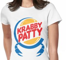 Krabby Patty Womens Fitted T-Shirt
