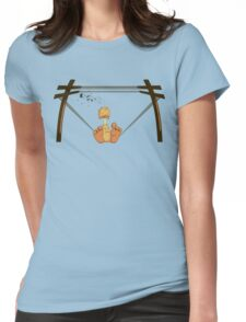 Too Big a Bird Womens Fitted T-Shirt