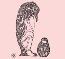 emperor penguin sketch One Piece - Long Sleeve