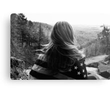 American Forest Metal Print