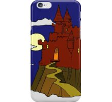 Magical castle in the clouds iPhone Case/Skin
