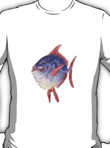Blue and red moonfish T-Shirt