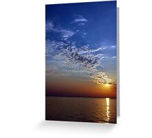 Serenity in the Sunset Greeting Card